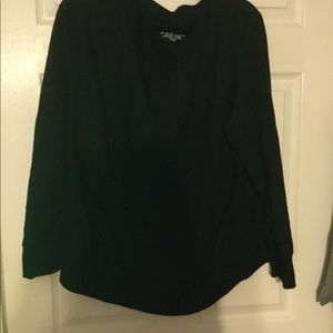Sonoma 1x black sweatshirt super soft